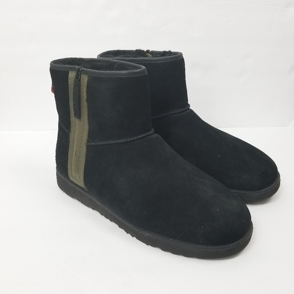 Ugg Shoes Classic Mini Zip Waterproof Boot Sz 14 Poshmark